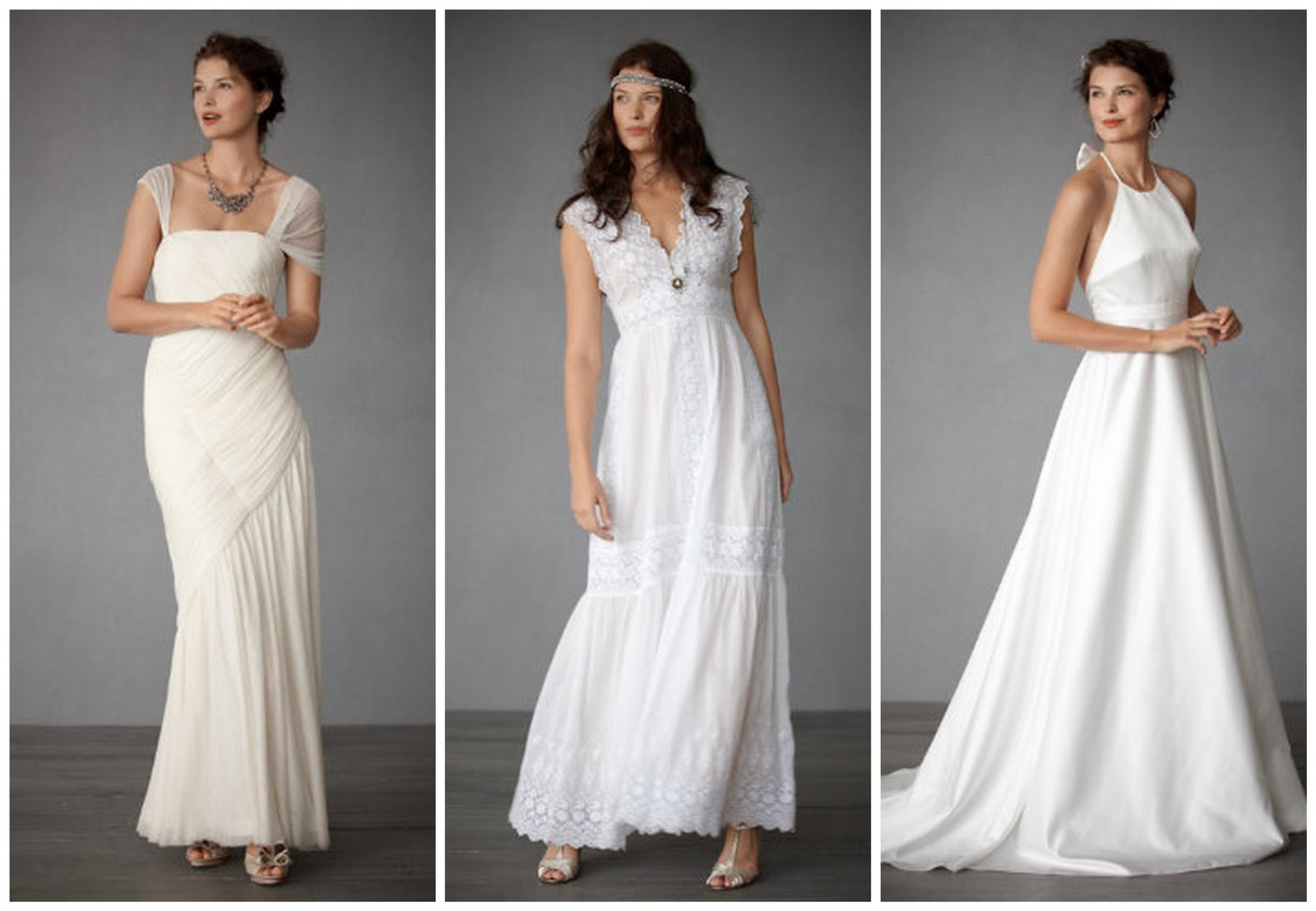 Wedding dresses: dress for late afternoon weddings