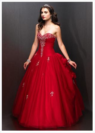 Red wedding dresses new design