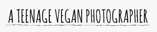 a vegan teenage photographer.