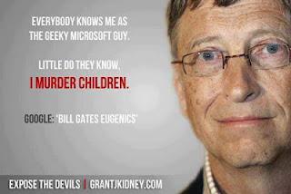 Bill Gates Selain CEO Microsoft Juga Pembunuh