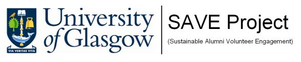 University of Glasgow SAVE Project