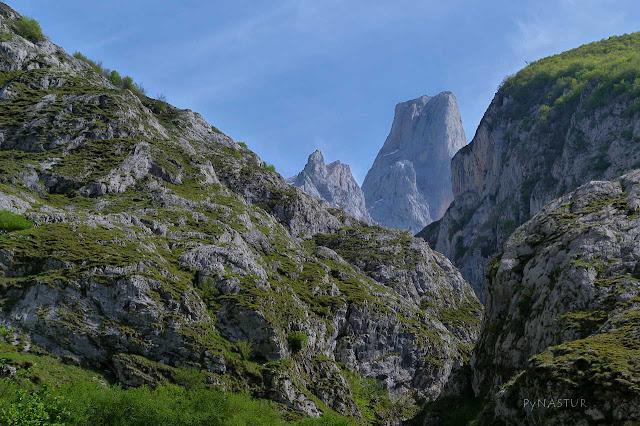 Pico Urriellu  desde el Mirador de Bulnes - Asturias