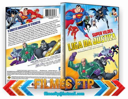Super Vilões Liga Da Justiça Mandantes Do Crime 2014 DISCO 1 DVD-R