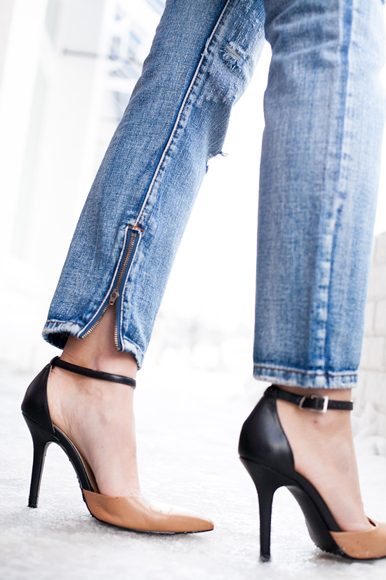 Here&Now: how to style distressed jeans