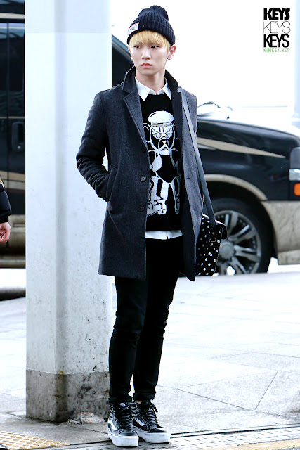 Steal Key from Shinee's airport style