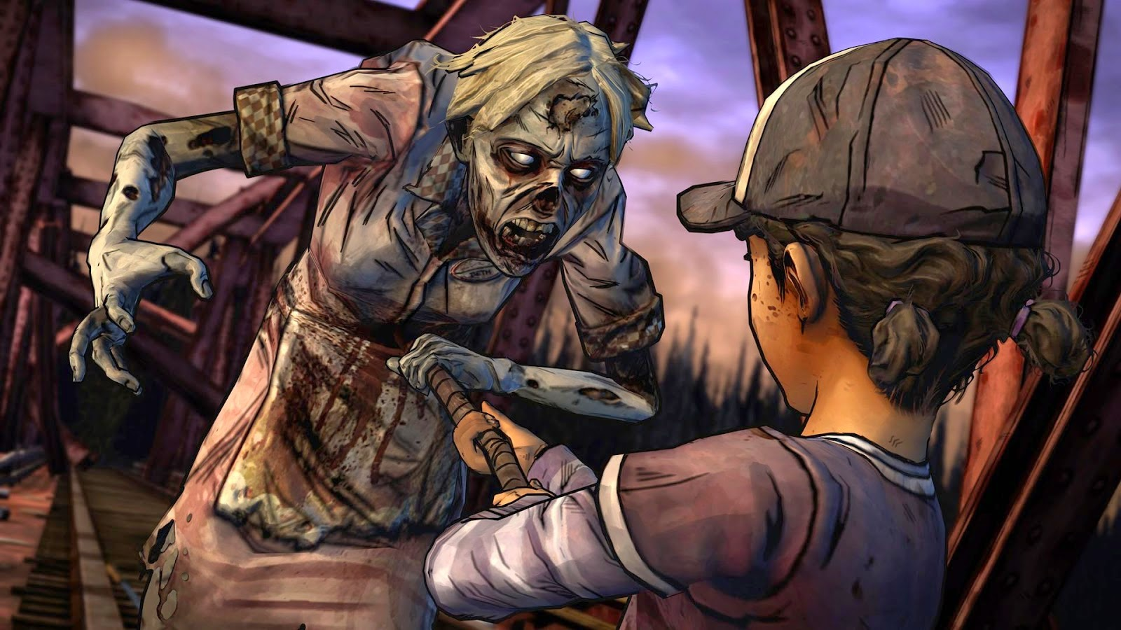 The Walking Dead: Season Two para Android e IOS, Vuelven los Zombies
