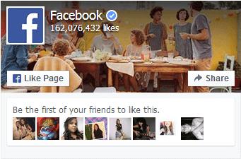 Nuevo complemento de seguidores de facebook
