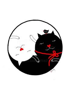 Gatos Yin e Yang