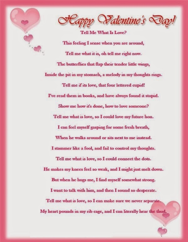 Top 15 Cute Valentines Day Poems – Valentine Cards Poems