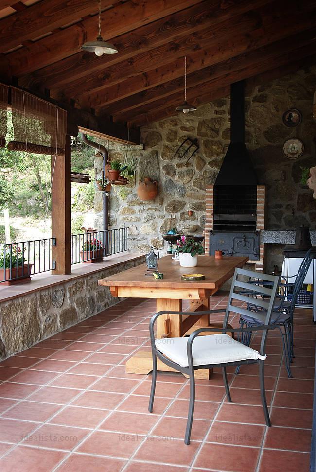 Fotos de terrazas terrazas y jardines piedras para for Fotos de jardines de casas modernas