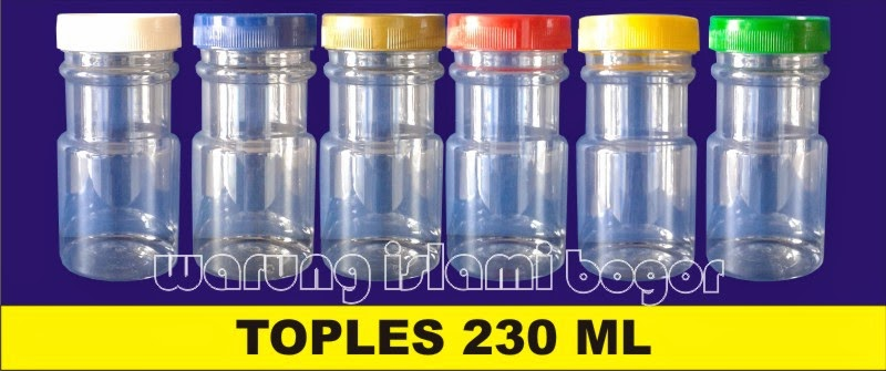 Jual Aneka Botol Toples Plastik Kemasan