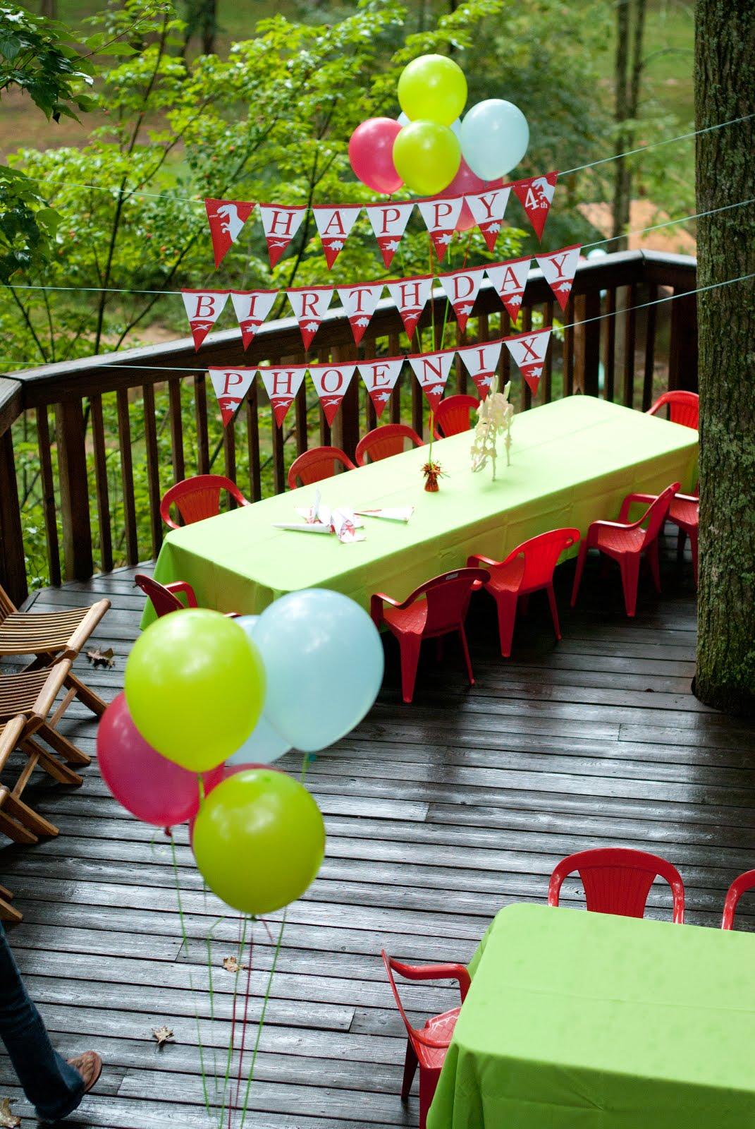 Pure Joy Events Dinosaur Birthday Party
