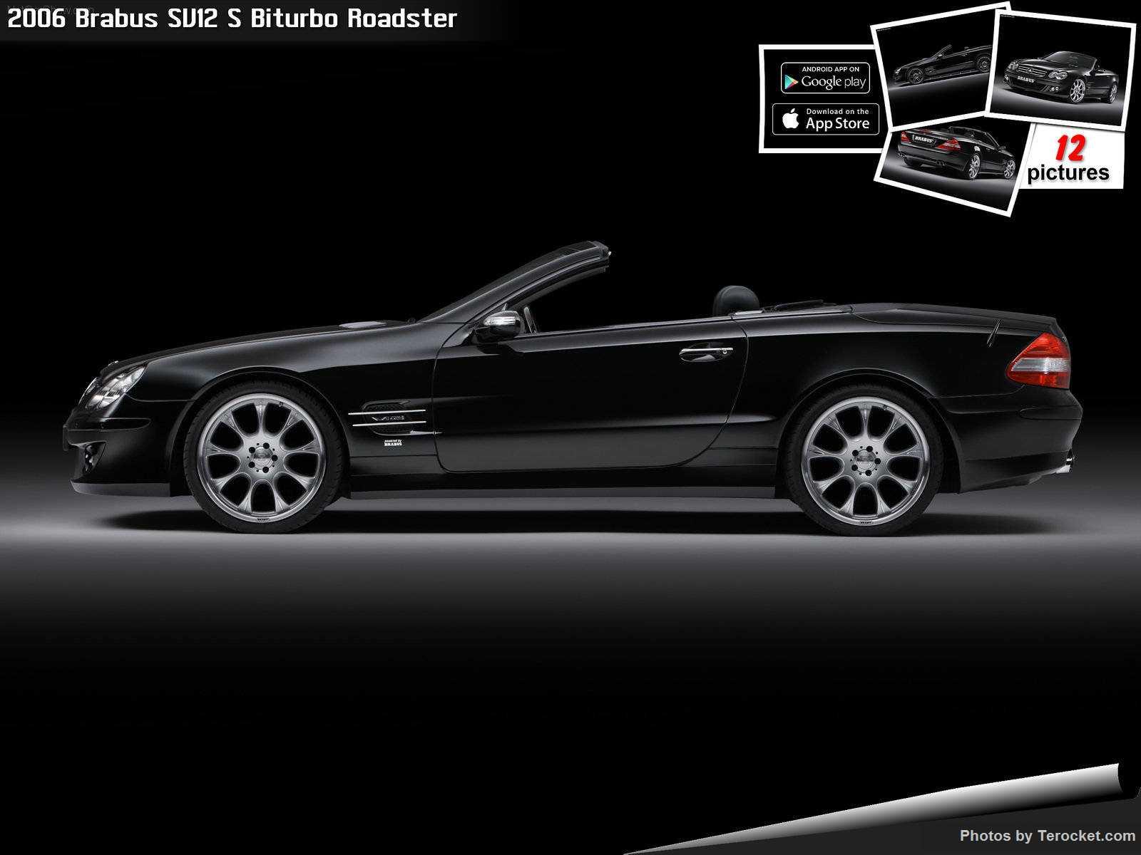 Hình ảnh xe ô tô Brabus SV12 S Biturbo Roadster 2006 & nội ngoại thất