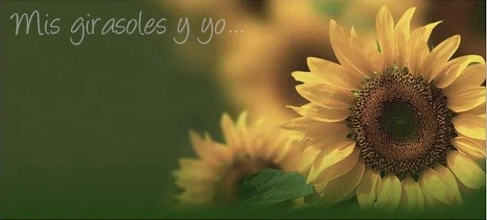 Mis Girasoles y yo...