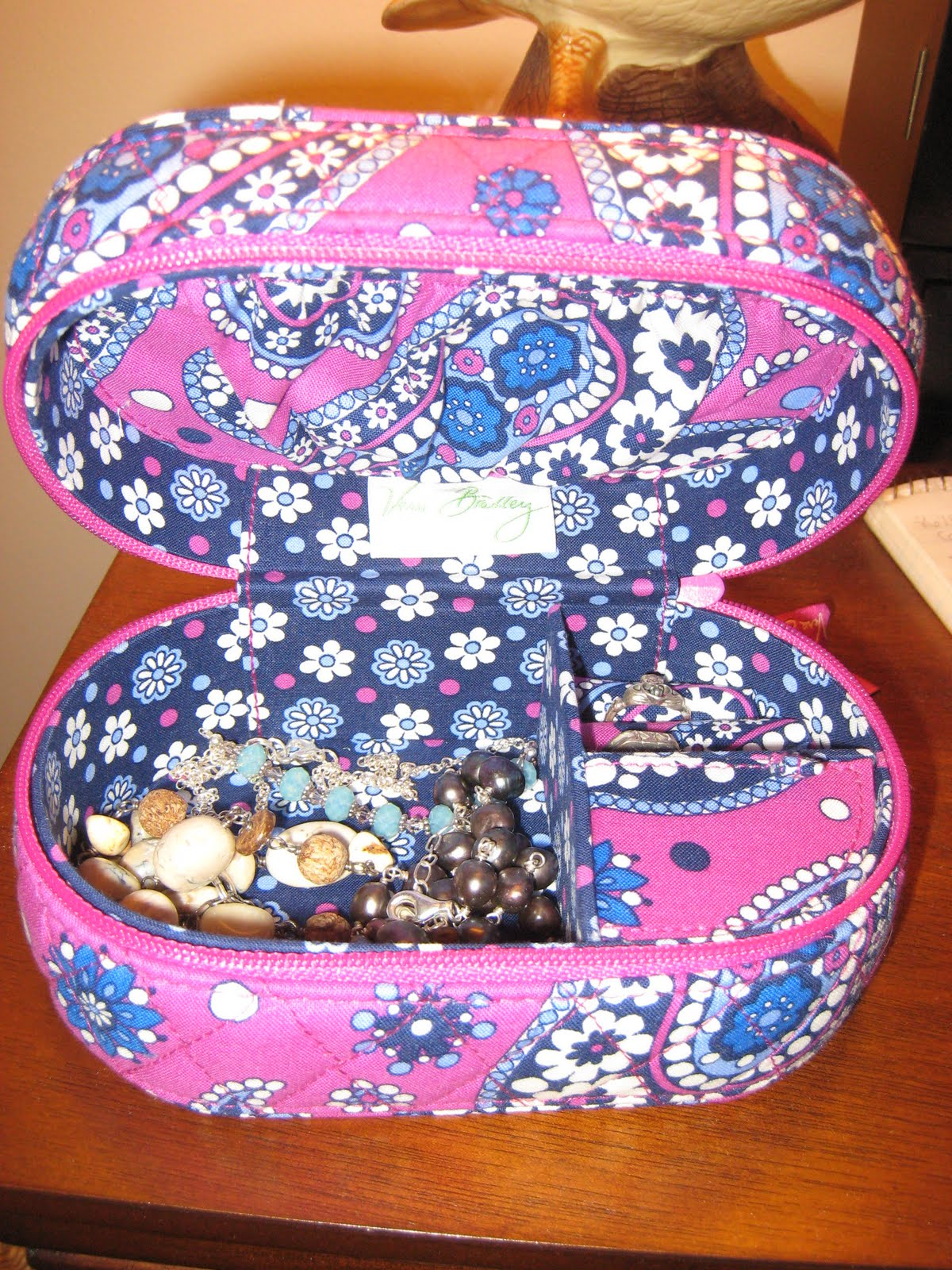 Vera Bradley's trademark style is fashionable quilted cotton bags in all sizes in shapes. Perfect for any professional or casual look, Vera Bradley purses come in crossbody, satchel, tote bag, backpack and shoulder bag styles. Vera Bradley diaper bags provide a .