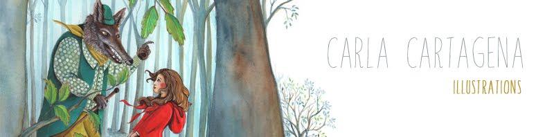 carla cartagena peintures illustrations