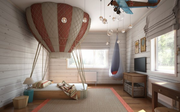 Eye for design decorate your interiors with hot air balloon decor these vintage french hot air balloon themed lights are fabulous the french pilot is the perfect touch this shows how you can select a great accessory that mozeypictures Images