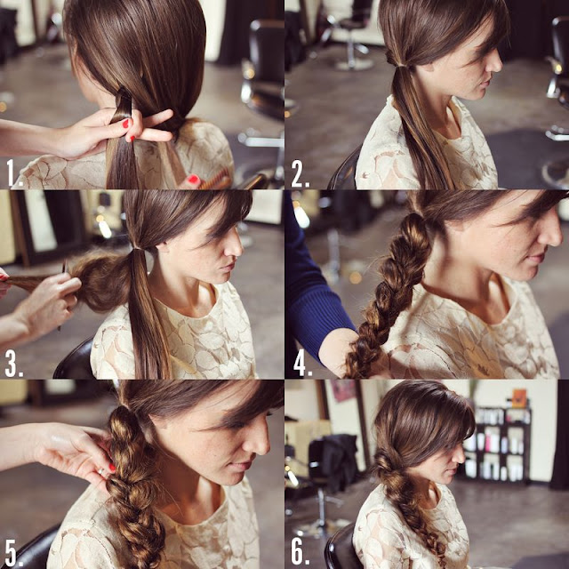 How to Style a Messy Braid Tutorial