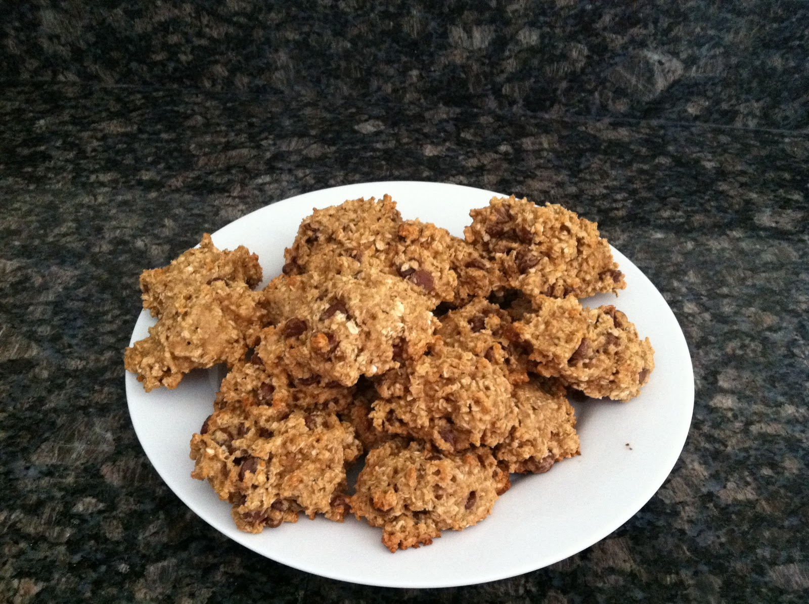 Low Calorie Oatmeal Chocolate Chip Cookies Applesauce