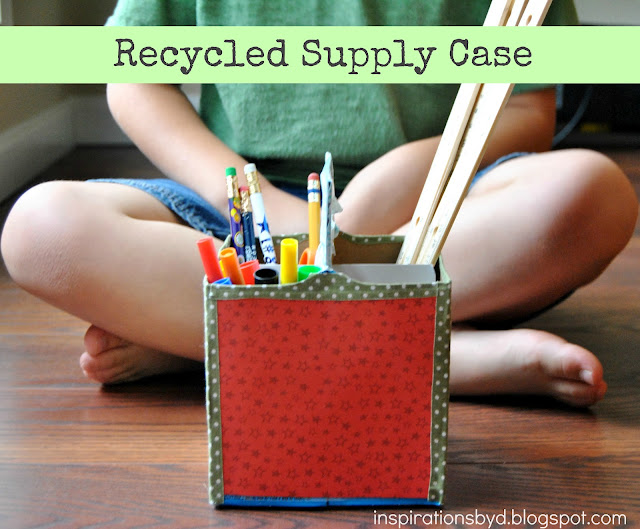 Recycled Supply Case- Kids