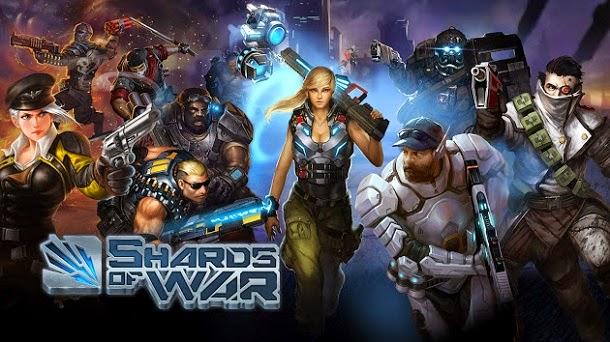 Entre em conflitos épicos nos universos paralelos de Shards of War