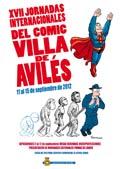 cartel Jornadas del cócmic Villa de Avilés