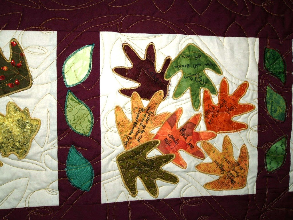 Cynthia Lance Fall Leaves Quilt