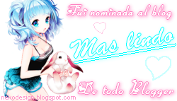 premio al blog kawaii