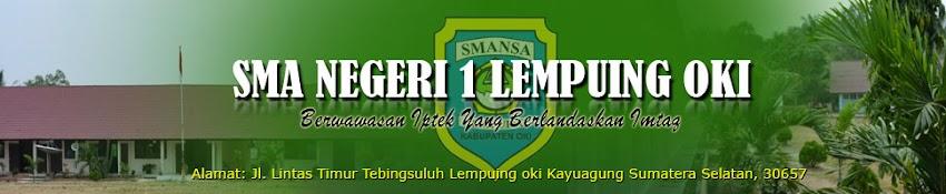 SMA N 1 Lempuing OKI Sumatera Selatan