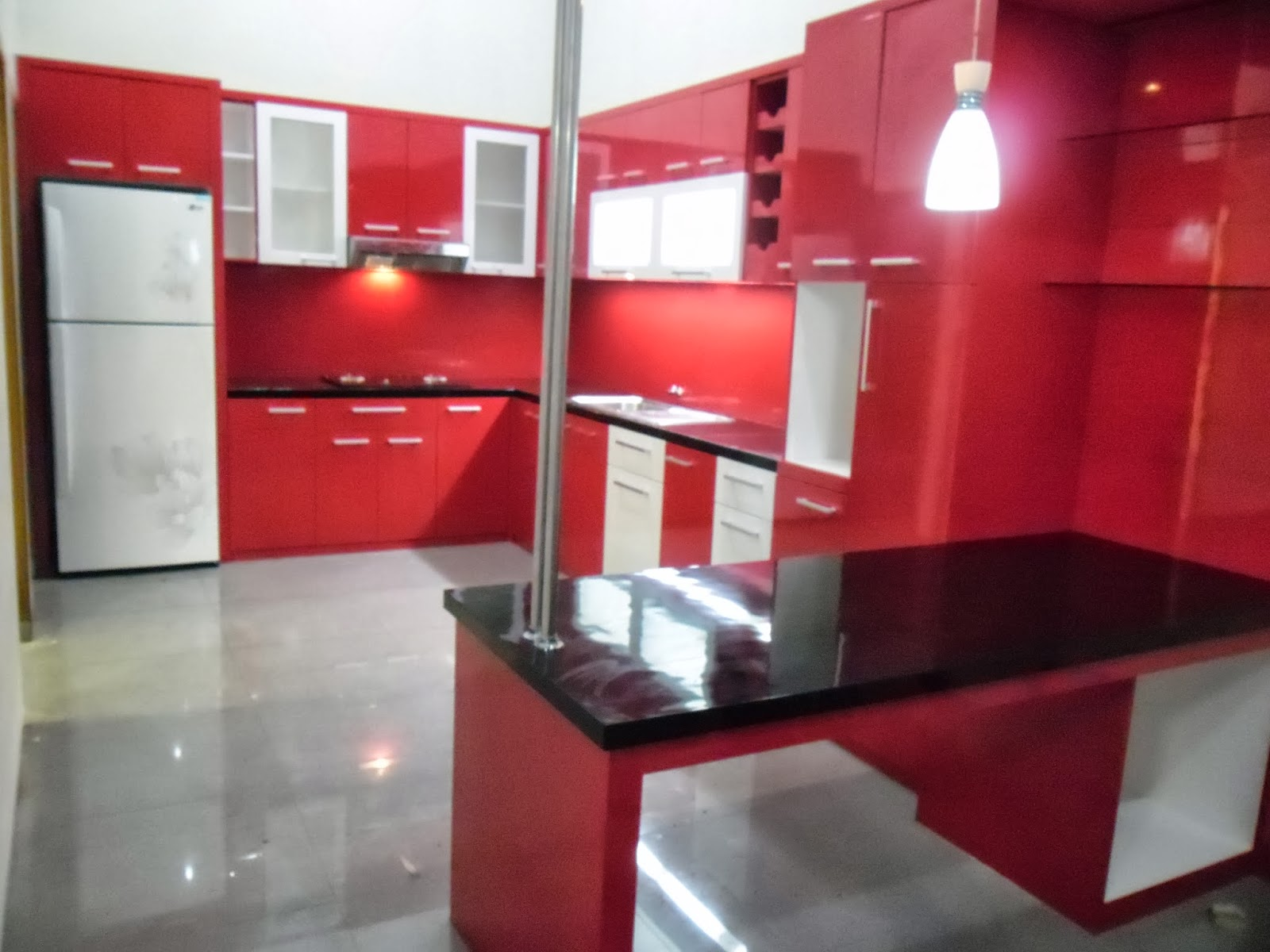 Kitchen Set U Shape Custom Furniture Semarang Kitchen Set Semarang