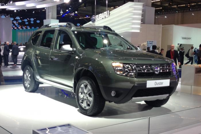 Green Energy Holding: New Dacia Duster 2014 price & release date