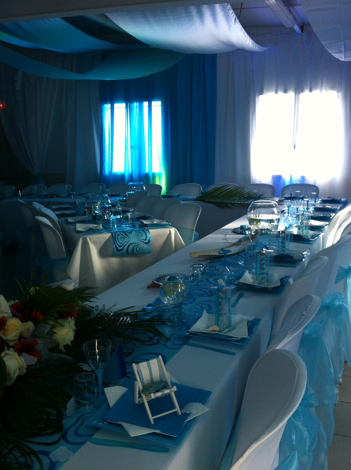 decoration pour salle mariage fete reception septembre 2012. Black Bedroom Furniture Sets. Home Design Ideas