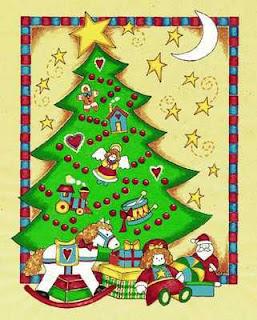 Dibujos arboles navidad para imprimir imagenes y dibujos for Ambientacion para navidad