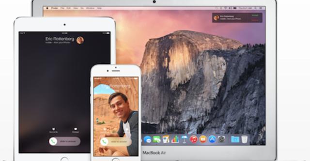 Gọi điện và nhận cuộc gọi trên iPhone bằng iPad, MacBook