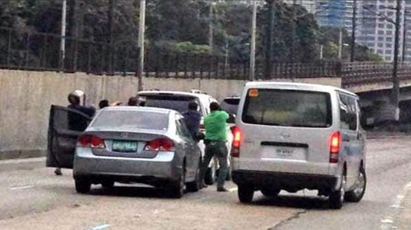 EDSA Gun Toting an Incident of Kidnapping
