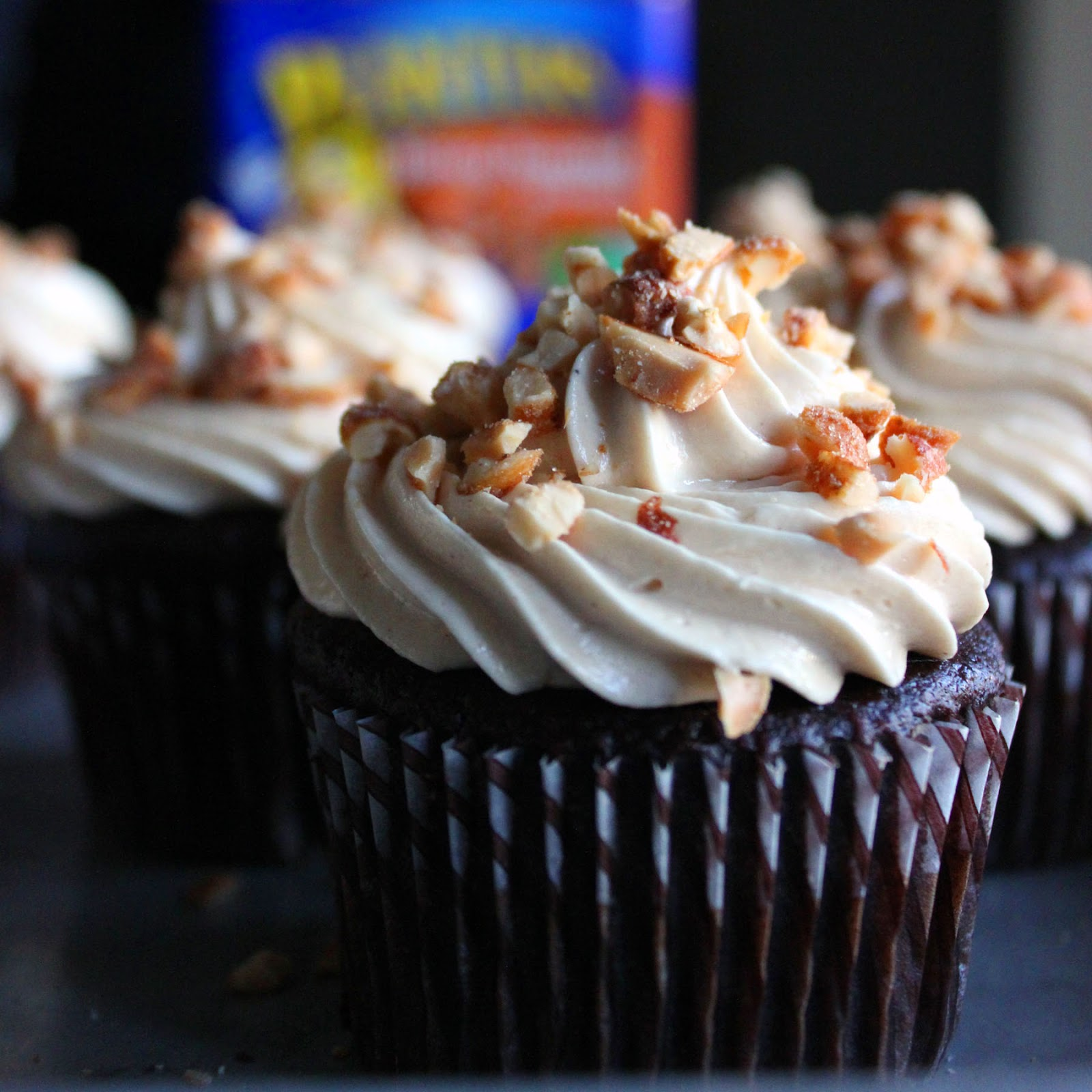 Chocolate Cupcake With Peanut Butter Filling