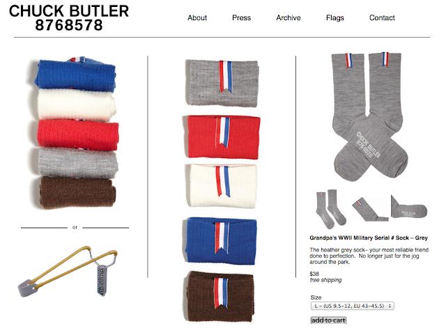 Chuck Butler socks