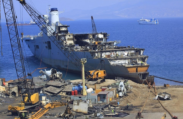 HMS Invincible is scrapped