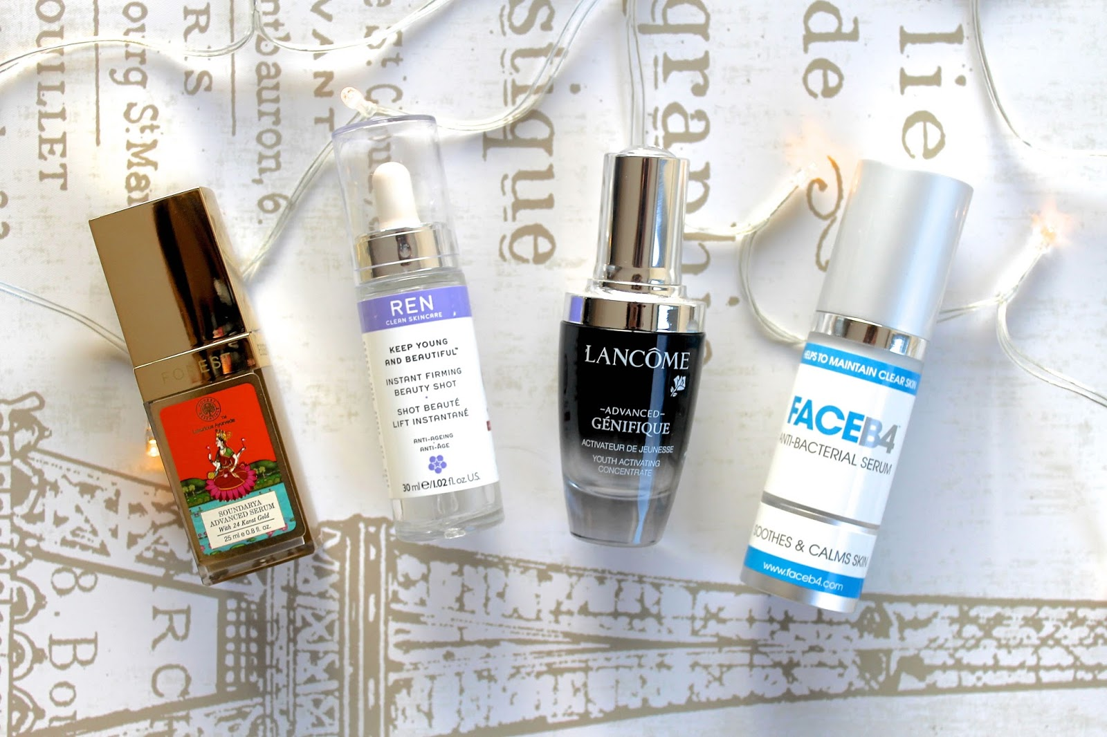 face serum skincare favourites blog