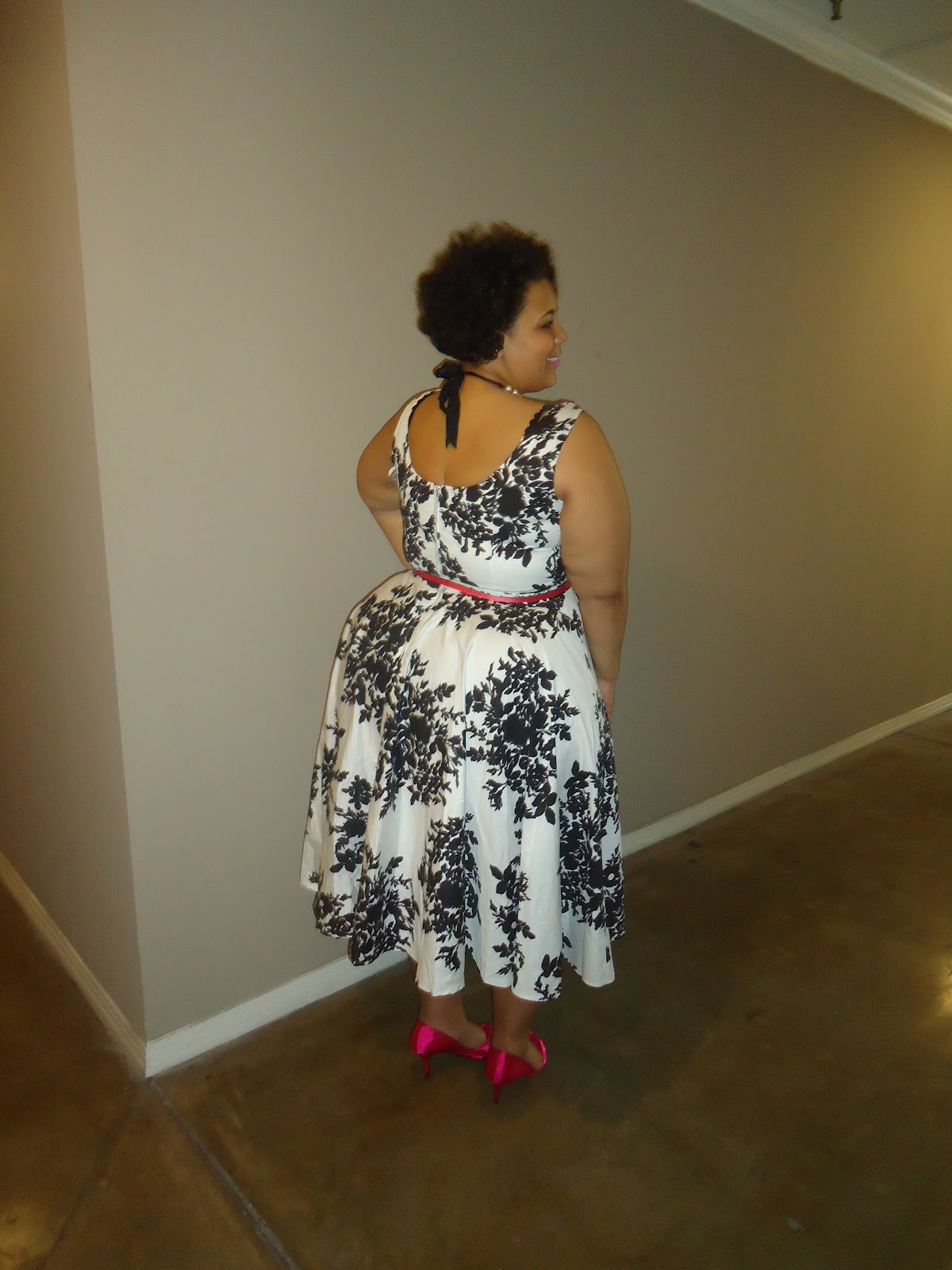 Plus Size Blog, Shop Ruche, Easter Dress