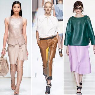 model baju kulit musim semi
