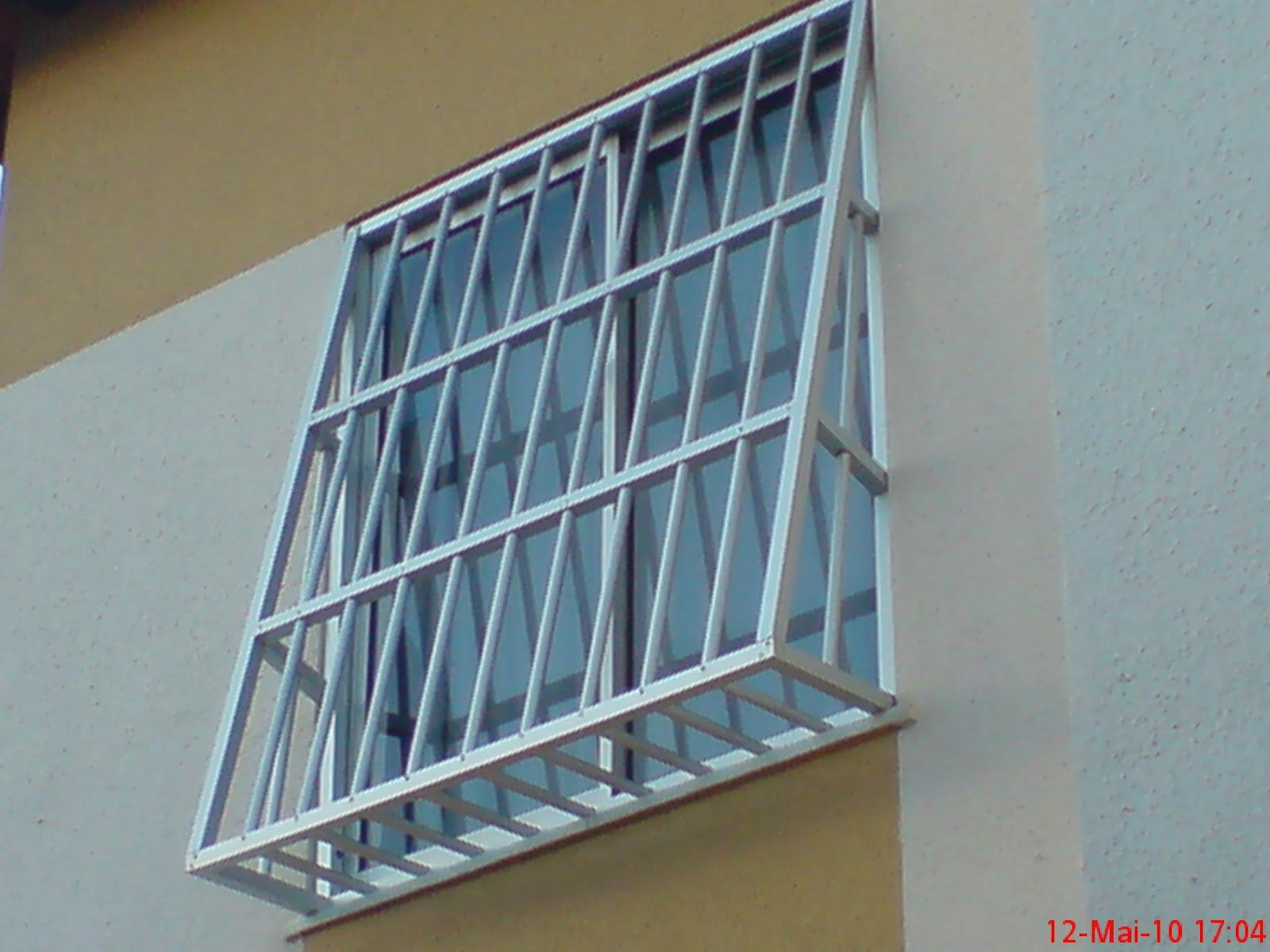 #4B7B80 Grades de Alumínio 4124 Grade De Aluminio Para Janela De Apartamento