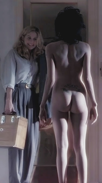 Nude girls presented for slavery sex video