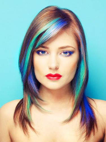 La moda en tu cabello cabellos te idos de colores de moda - Colores de moda ...