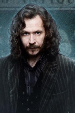 Harry Potter and Sirius Black