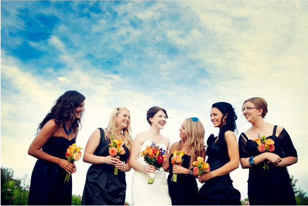 little black dresses as wear again bridesmaid dresses