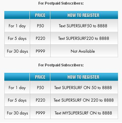 Globe Supersurf Smart Globe Sun Tm Talk And Text Call And