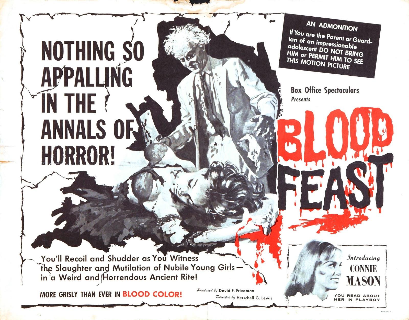 Chuck Norris Ate My Baby: Anatomy of A Murder Scene: Blood Feast (1963)