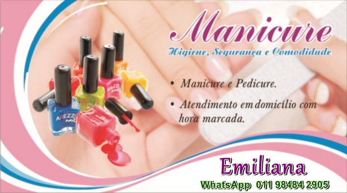 Manicure/Pedicure a Domicílio