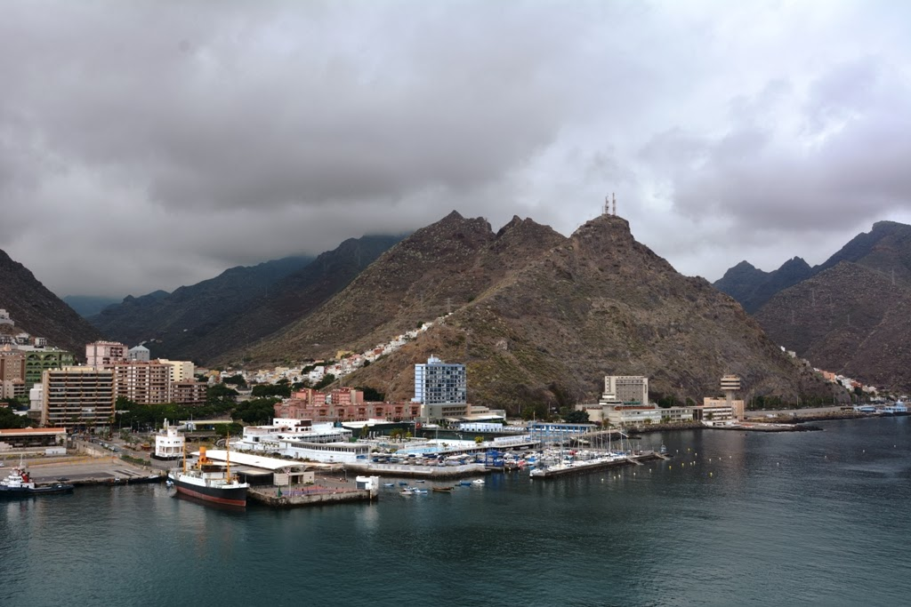 Santa Cruz Port Tenerife